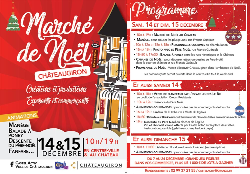 animation noël chateaugiron